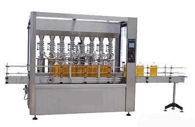 304耐腐不锈钢超声波自检式食用油灌装生产线